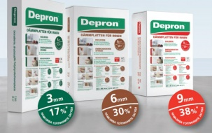 Депрон - вътрешна изолация