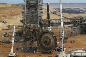 Модулно скеле за минна индустрия