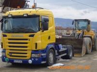 Услуги с транспортна и строителна техника