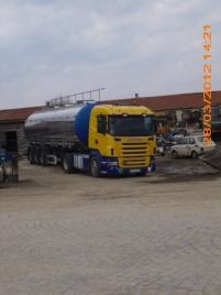 Извършване на транспортни услуги с цистерна