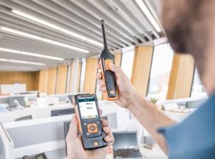 Testo 440 - уред за вентилация, климатизация и работна среда