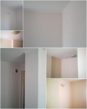 Гипсова шпакловка и боядисване