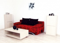 Мека мебел Санторини