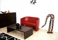 Мека мебел за офис Кариби