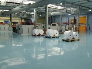Индустриални защитни подови покрития