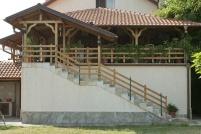 Изграждане на барбекю върху покривна плоча