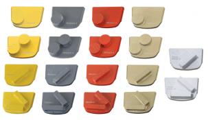 QuickChange - трапецовидни инструменти за шлайфане на бетон