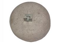 Бетонова основа за алуминиев мълниеприемен прът