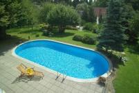 Овални сглобяеми басейни