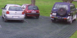Елементи за тревни площи и затревени паркинги