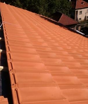 Изграждане на покриви с керамични керемиди