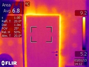Локализиране на загуба на топлина и енергия с термокамера