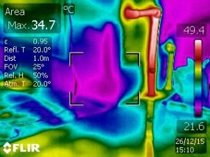 Откриване на течове с термографска камера