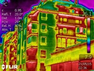 Термографско обследване на сгради