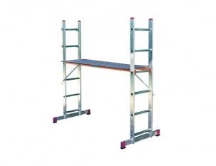 Комбинирано скеле-стълба Krause 2x6