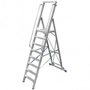 Складови стълби с платформи Krause Stabilo
