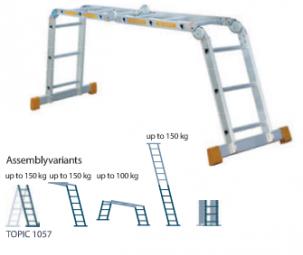 Компактна стълба TOPIC 1057