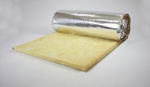 Минерална вата на рула с алуминиево фолио IZOCAM