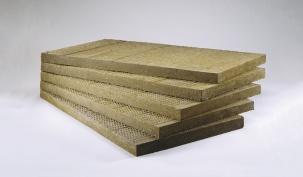 Каменна вата на плочи за фасади IZOCAM