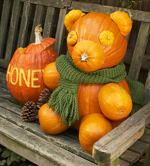 Осенние поделки в детский сад фото.
