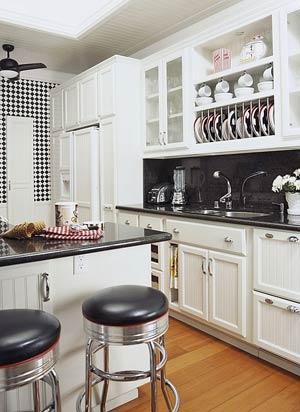 Няколко идеи за кухня в ретро стил