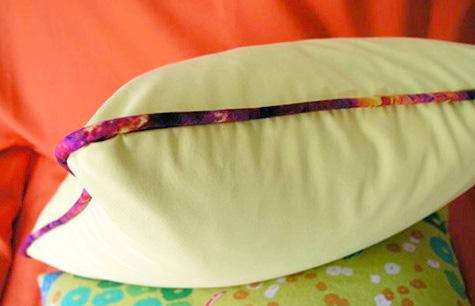 как сшить подушку выкройка