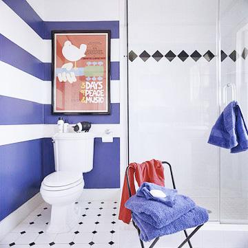 Покраска ванной комнаты водоэмульсионной