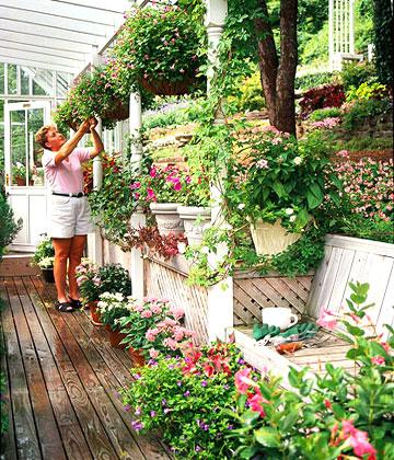 Обзавеждане и подредба на двора и градината! 08