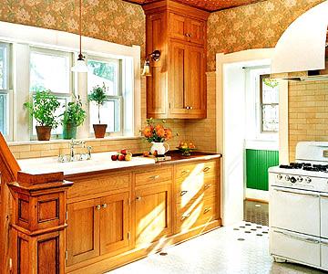 Реконструкция старой кухни