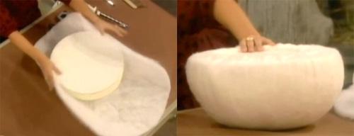Как сделать гриб из поролона своими руками 13