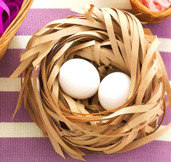 Как сделать гнездо своими руками для поделки