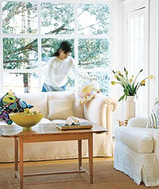 Как да имитирате пълно почистване на къщата