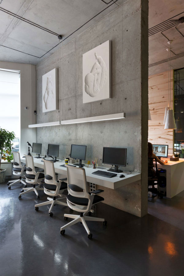 Офис внася артистични щрихи в еклектичния стил