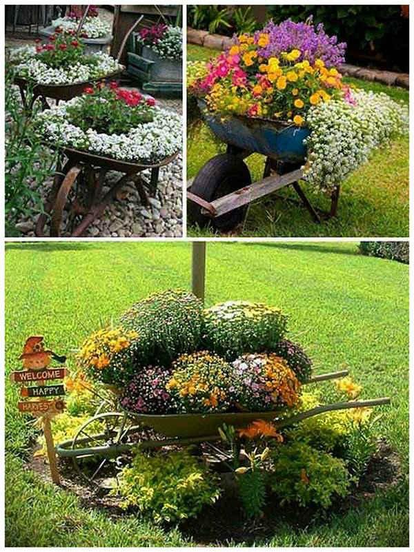 Градинка в количка