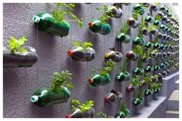 Висяща PVC градина