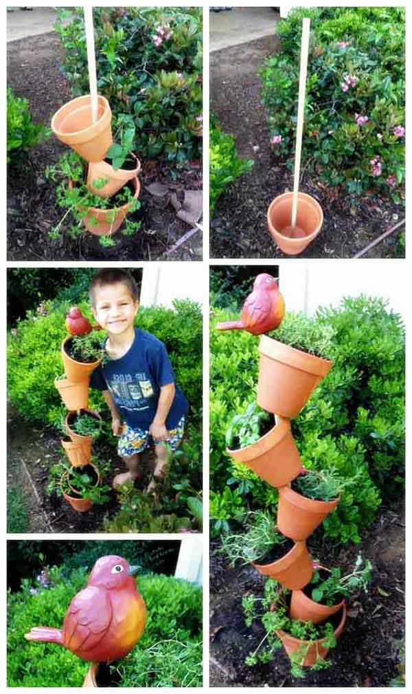 Нестандартна идея за малка градина