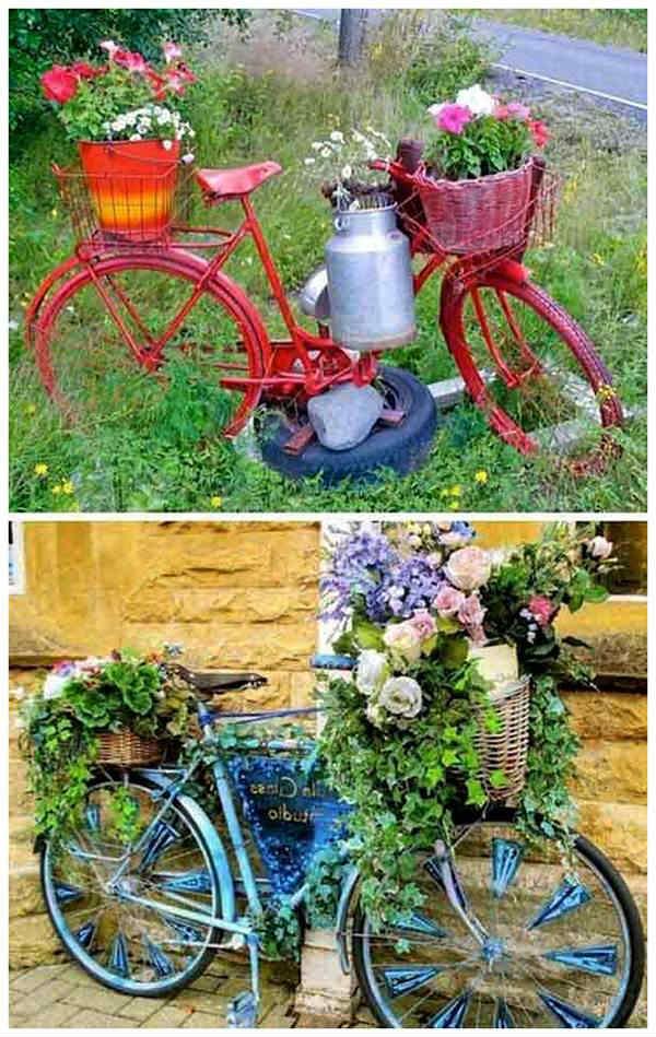 Инсталация с велосипед