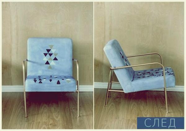 Пълна промяна: нов живот за един стар стол