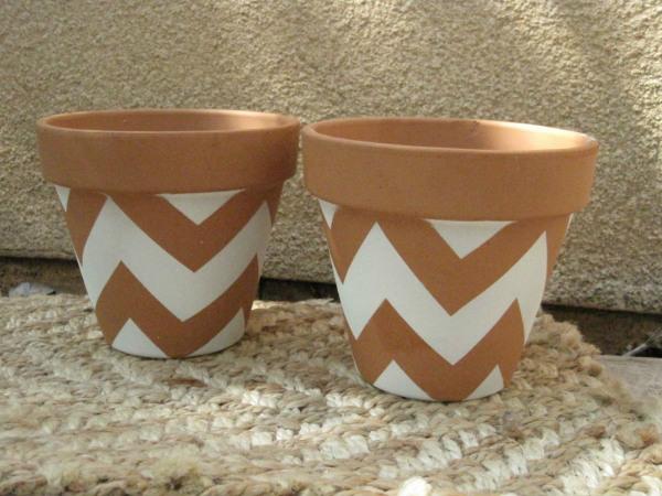 Лесни идеи за декорация на керамичните саксии