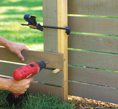 За двора и градината Fence_3