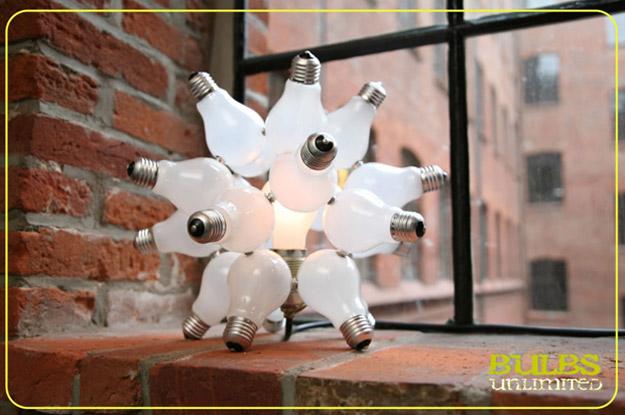 Самодельные люстры, люстра своими руками из лампочек