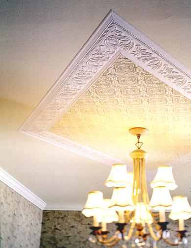 Как украсить потолки своими руками