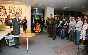 Мебелите на бъдещето представиха в шоурума на WorkSpace България