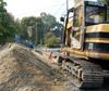 Инфраструктурното строителство с двойно по-малък спад от сградното