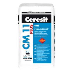 Ceresit CM 11 e с нова, усъвършенствана формула, позволяваща лепенето на гранитогрес