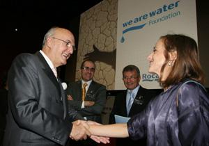 Roca представя международната фондация 'We Are Water'