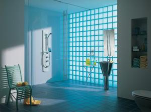Стъклените тухли Seves създават лукс в интериора