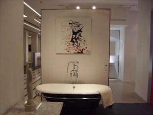 Зрителят определя цената в дарителска разпродажба на картините от изложбата 'Вода, тяло, дух'