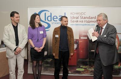 Две първи награди бяха връчени в седмия поред конкурс Ideal Standard Баня на годината 2010