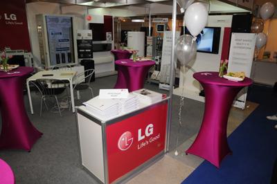 LG представи нова система за промишлена климатизация на изложението Бултерм